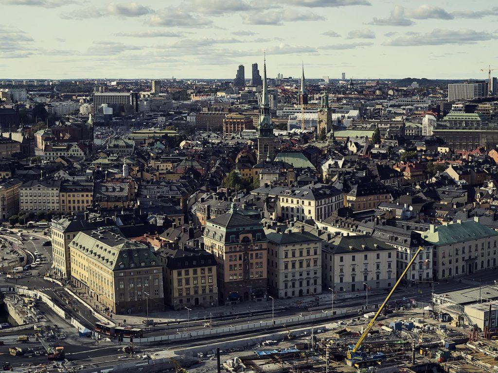 Komplexa och integrerade fordonsparker i Stockholm