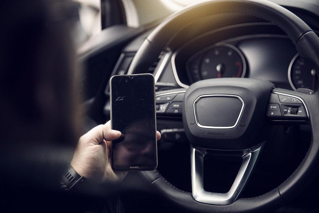 Digital körjournal används av förare i mobilen