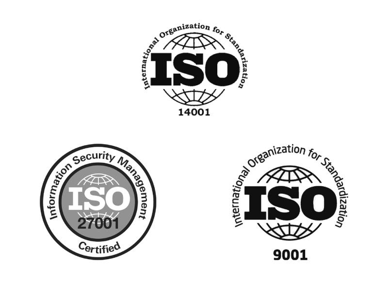 ISO-certifieringar Infobric Fleet