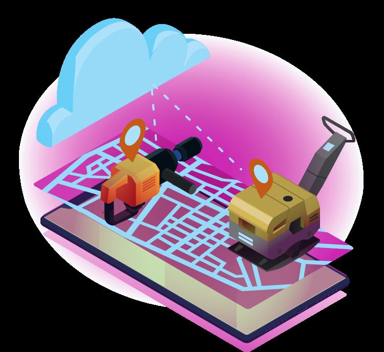 GPS spårning av verktyg och utrustning infobric fleet