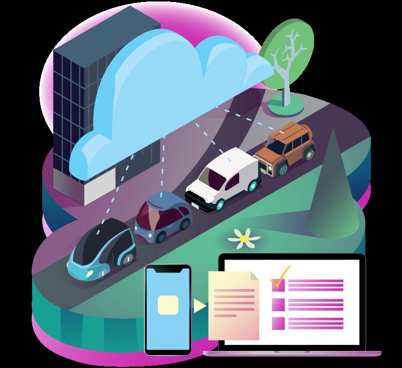 företagsbil infobric fleet